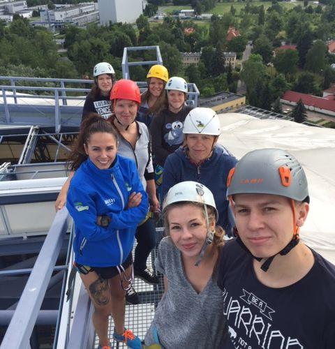 Zwiedzanie dachu stadionu